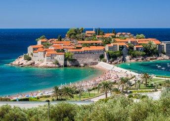 Montenegrói kirándulás adriai fürdőzéssel, félpanzióval, buszos utazással, idegenvezetéssel