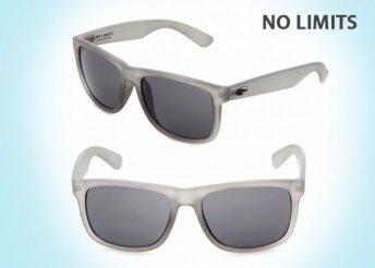 No Limits divatos unisex napszemüveg UV 400-as védelemmel, ruhatokkal