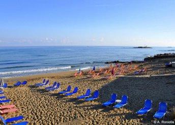 8 nap 2 főre Krétán, az Iraklis Apartmanokban, reggelivel, repülőjeggyel és illetékkel