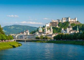 3 napos kirándulás Salzburgban és a Salzkammerguti tóvidéken, buszos utazással és reggelivel