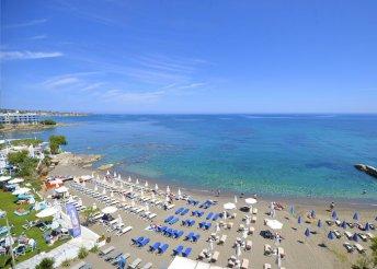 8 nap 2 főre Krétán, a Golden Beach Hotelben**** félpanzióval, repülőjeggyel és illetékkel