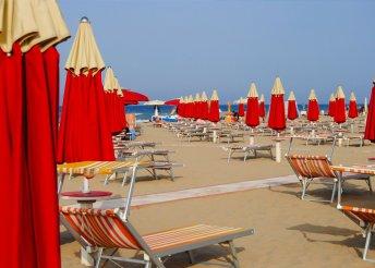 6 napos nyaralás az olaszországi Adriánál, Riminiben, busszal, reggelivel, idegenvezetéssel