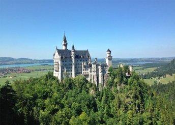 4 napos körutazás bajor kastélyokhoz, buszos utazással, reggelivel, idegenvezetéssel