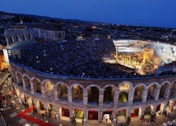 3 napos kirándulás a Veronai Operafesztiválra, buszos utazással, 3*-os szállással, reggelivel, idegenvezetéssel