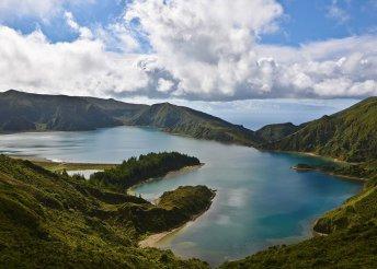 Körutazás az Azori-szigeteken tengerparti pihenéssel, repülőjeggyel, 3-4*-os szállásokkal, reggelivel