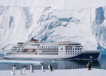 Jeges hajókirándulás a Dél-Shetland-szigetekhez és az Antarktiszi-félszigethez