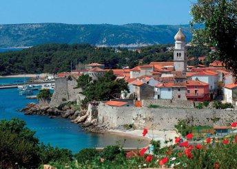 1 napos strandolás az Adriai-tengernél, Krk-szigeten, buszos utazással