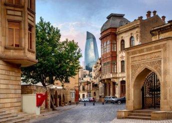 Körutazás Azerbajdzsánban, repülőjeggyel és illetékkel, reggelivel, idegenvezetéssel