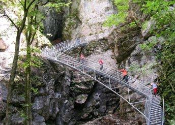 1 napos buszos utazás az Ötschergräben-szurdokba, túravezetéssel