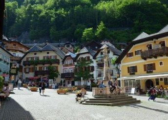 4 napos kirándulás az ausztriai Salzkammergut tavai és hegyei között, buszos utazással, reggelivel
