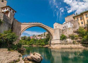 7 napos balkáni körutazás adriai fürdőzéssel, buszos utazással, félpanzióval, idegenvezetéssel