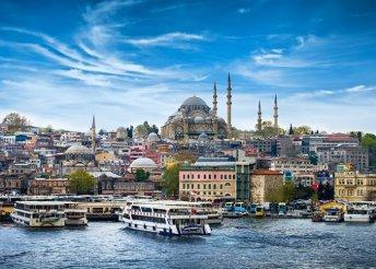 4 napos városnézés Isztambulban, repülőjeggyel, 3*-os szállással, reggelivel, idegenvezetéssel