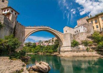 Húsvéti körutazás Bosznia-Hercegovina kincseinek nyomában, buszos utazással, reggelivel