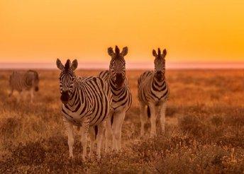 Kiscsoportos namíbiai körutazás repülőjeggyel, félpanzióval, belépőkkel