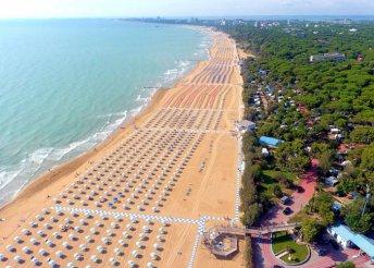 1 napos strandolás az Adriai-tenger partján, Lignanóban, busszal, akár az augusztus 20-i hosszú hétvégén is