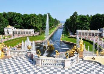 5 napos városnézés Szentpéterváron, 4*-os szállással, reggelivel, idegenvezetéssel
