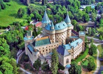 1 napos buszos kirándulás szlovákiai kastélyokhoz, a trencséni várhoz és a bajmóci várkastélyhoz