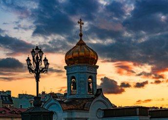 6 napos kirándulás kánok és cárok földjén, Moszkvában és Kazanyban, repülővel, reggelivel