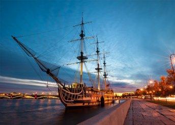 5 napos városnézés Szentpéterváron reggelivel, privát transzferrel, fakultatív programokkal