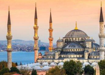4 nap Isztambulban, repülőjeggyel, félpanzióval, idegenvezetéssel, helyi buszos közlekedéssel