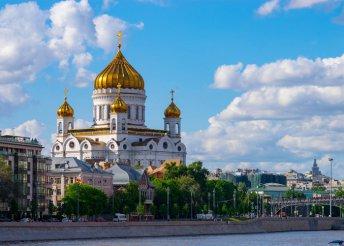 7 napos kaland Moszkvában és környékén, az aranygyűrű városaiban, repülőjeggyel, illetékkel