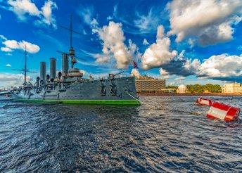6 napos városnézés Szentpéterváron, repülőjeggyel, illetékkel, reggelivel, 4*-os szállással