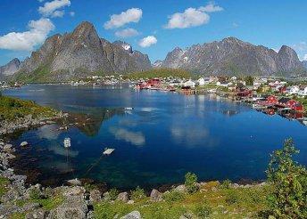 Kirándulás a Lofoten-szigetek és a Lappföldön, repülőjeggyel, illetékkel