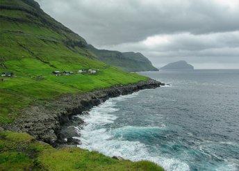 Kirándulás a Feröer-szigeteken, reggelivel, helyi közlekedéssel