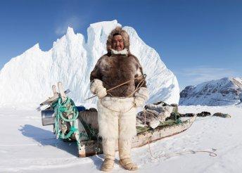 Kirándulás Grönland hómezőin, az eszkimók földjén, repülőjeggyel, illetékkel, 3*-os szállásokkal