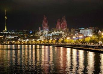 Városnézés Bakuban és kirándulás Azerbajdzsánban, repülőjeggyel, illetékkel, félpanzióval