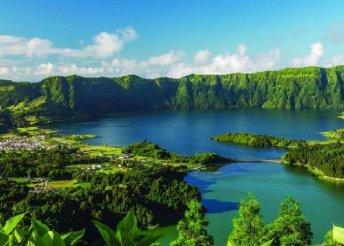 Kirándulás az Azori-szigeteken, repülőjeggyel, helyi buszos és hajós utazással, reggelivel