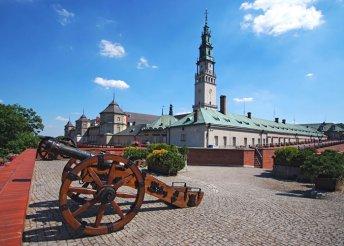 6 nap Lengyelországban, Varsó, Wroclaw és Czestochowa érintésével, busszal, félpanzióval