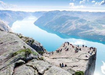 8 napos körutazás Norvégiában, repülőjeggyel, 3*-os szállással, reggelivel