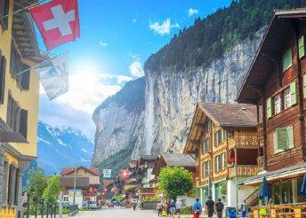 8 napos körutazás Svájcban, Európa legszebb hegycsúcsain, busszal, reggelivel