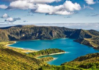 Kalandok az Azori-szigeteken lisszaboni városnézéssel, repülőjeggyel, reggelivel