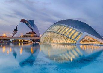 Városnézés Valenciában, repülőjeggyel, illetékkel, 4*-os szállással, reggelivel, 3 ebéddel