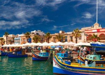 5 napos kirándulás Málta szigetén, repülőjeggyel, reggelivel, programokkal, idegenvezetéssel