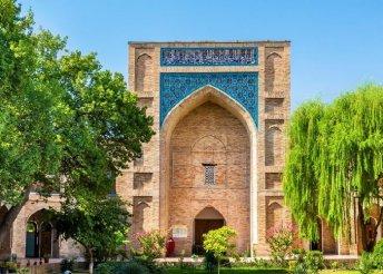 12 napos körutazás a Selyemúton, Kazahsztánban, Üzbegisztánban és Türkmenisztánban, repülőjeggyel