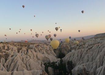 Kirándulás a törökországi Kappadókiában, repülőjeggyel, illetékkel, 4*-os szállással