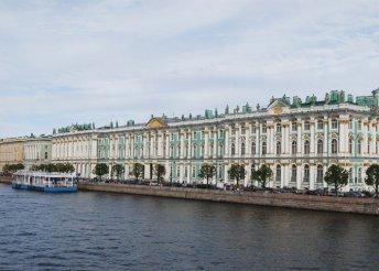 Városnézés Szentpéterváron novgorodi kirándulással, repülőjeggyel, illetékkel, reggelivel