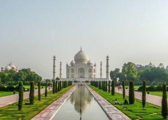 Körutazás Indiában repülőjegyekkel, illetékkel, félpanzióval, programokkal, belépőkkel