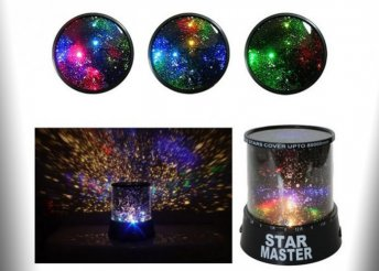 Projektoros LED csillaglámpa