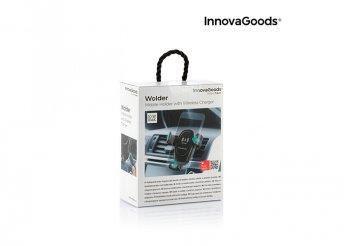 Autós mobiltelefon-tartó vezeték nélküli töltővel