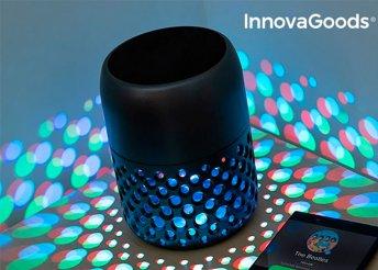 InnovaGoodsHome Bluetooth Mandalamp LED újratölthető LED lámpa hangszóróval