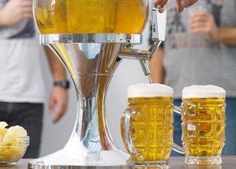 Hűtött sör adagoló gömb
