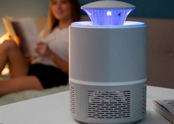 Szúnyog elleni szívó lámpa