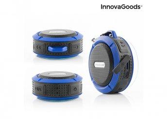 InnovaGoods DropSound Gadget Tech Vízálló hordozható vezeték nélküli Bluetooth hangszóró