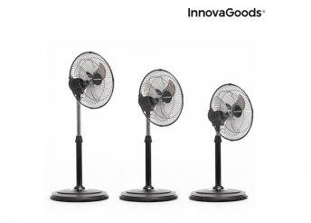 InnovaGoods Home Climate 360º- ban oszcilláló álló ventilátor