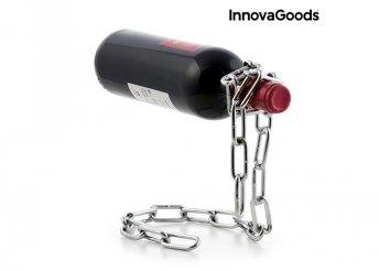 InnovaGoods Kitchen Sommelier lebegő láncos palacktartó