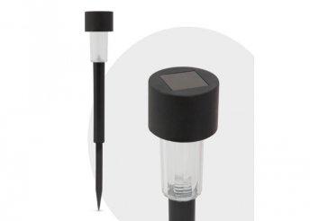 LED-es kültéri szolár lámpa - fekete